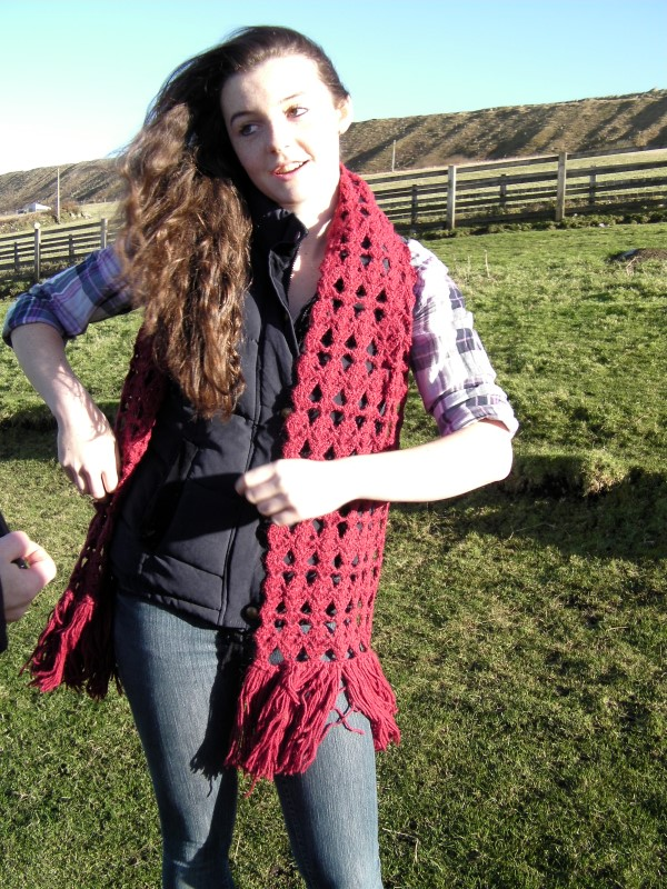 Products for Sale - Super large alpaca scarf